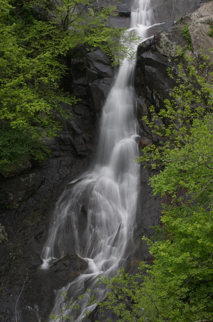 White oak canyon falls waterfall in