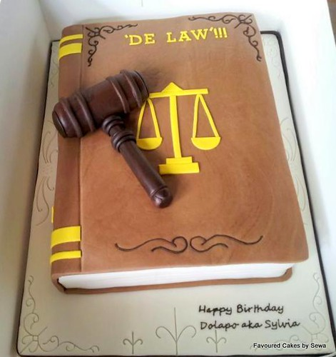 Legal Justice Cake