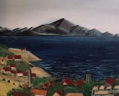 Frank Justin Gonski Art mountain valley