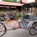 three wheeled bicycle carriage