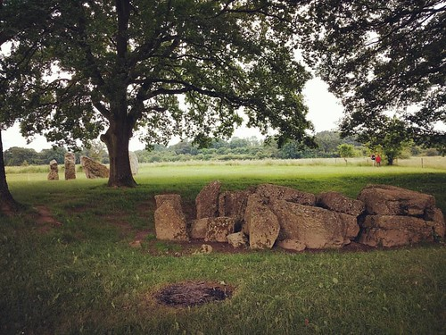 Some 7000years ago these mysterious stones were placed here by our ancestors, we still don't know for sure what for - a tomb? The cultural value of a place like this is impressive, can you imagine what these stones must have seen and heard and gone throug