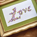 Embroidered: Love