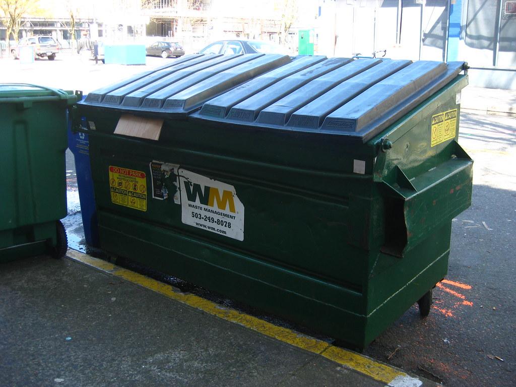 Waste Management | 2-yard front-load dumpster for co ...