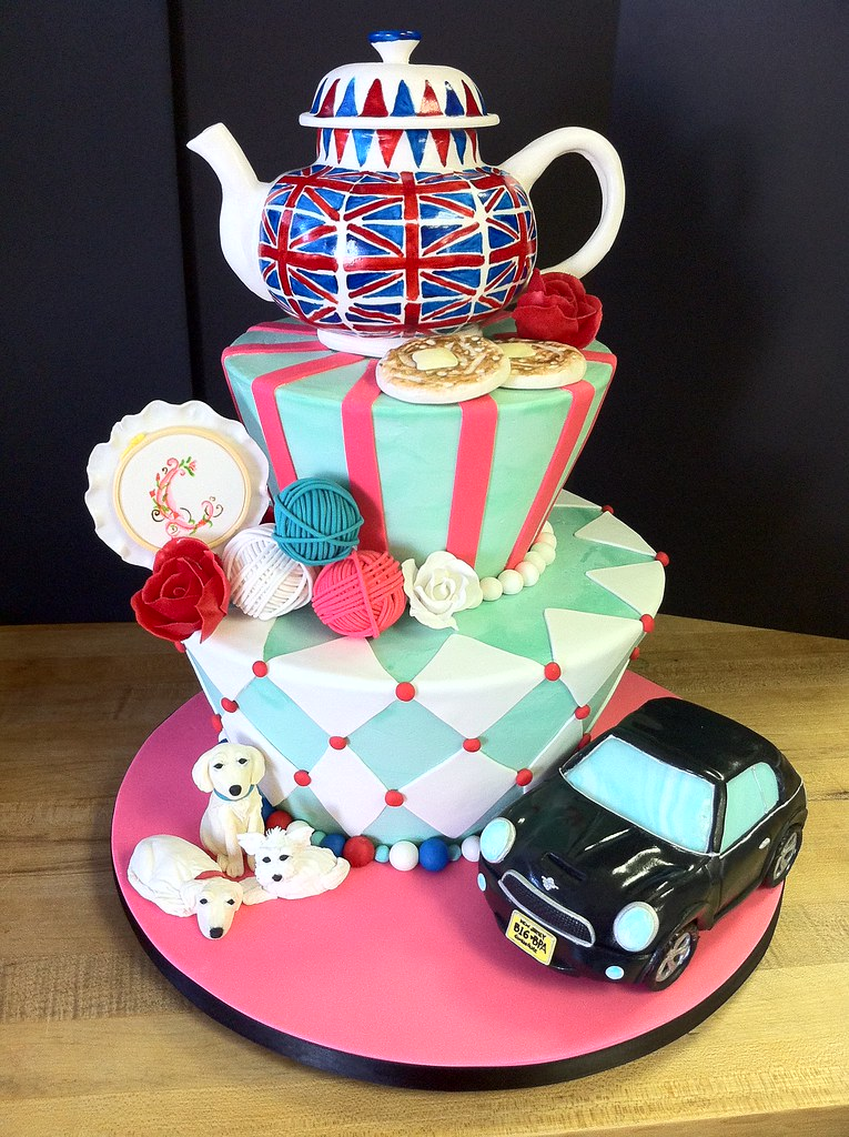 Birthday Cake Image Zeenat : English birthday For an English expat- her husband gave ...