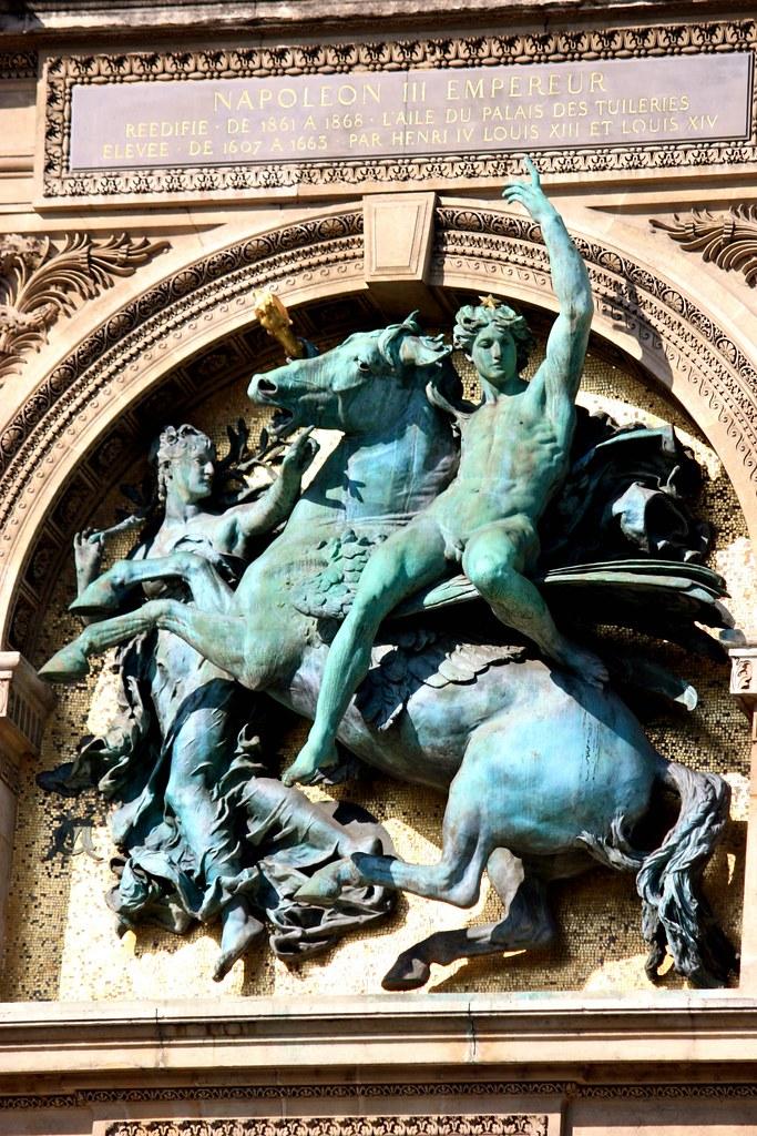 Napoleon Iii Emperieur Statue Paris France Statue