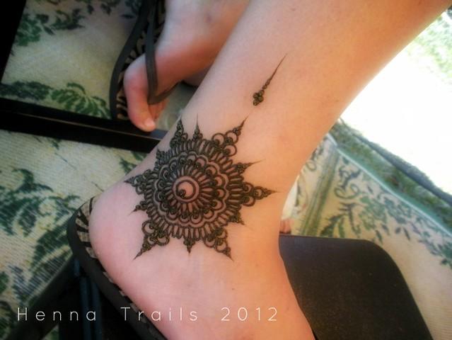 Ankle Mandala Henna Festival Style Flickr Photo Sharing