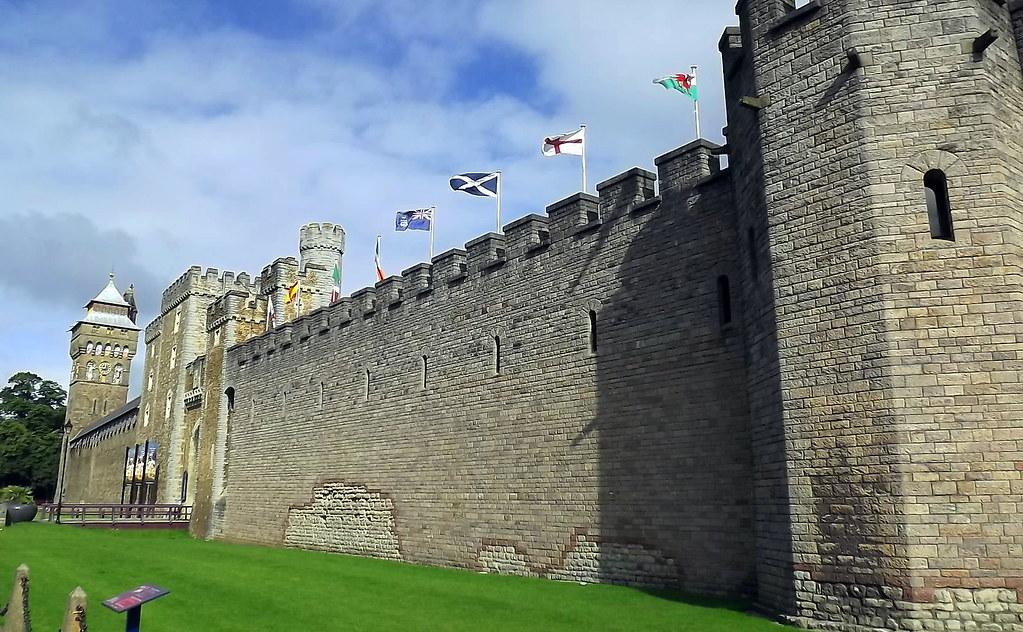 Cardiff Castle Exterior Walls 02   cowrin   Flickr