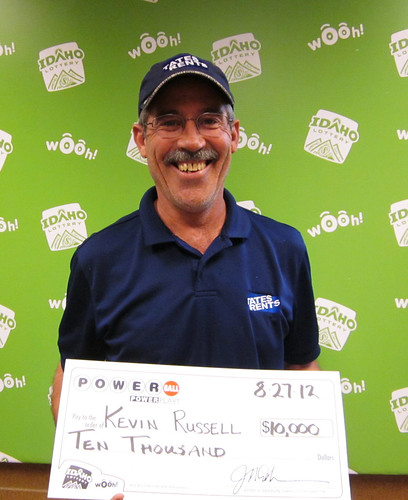Kevin Russell - $10,000 Powerball | by Idaho Lottery