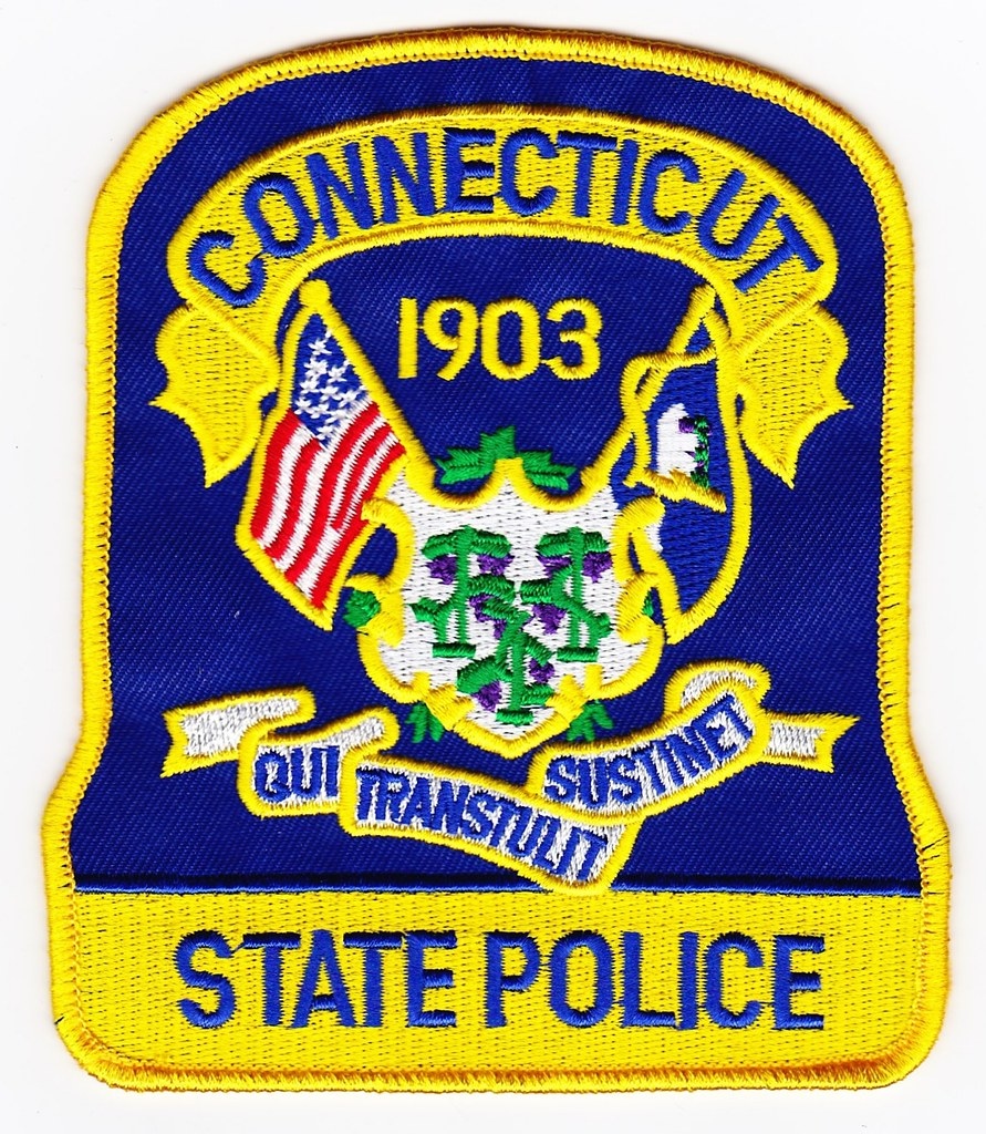 Ct Connecticut State Police Patch For Waubonsee