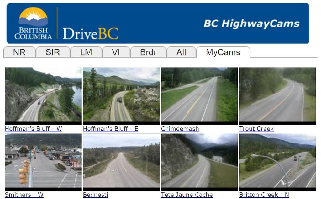 DriveBC Highway Cams