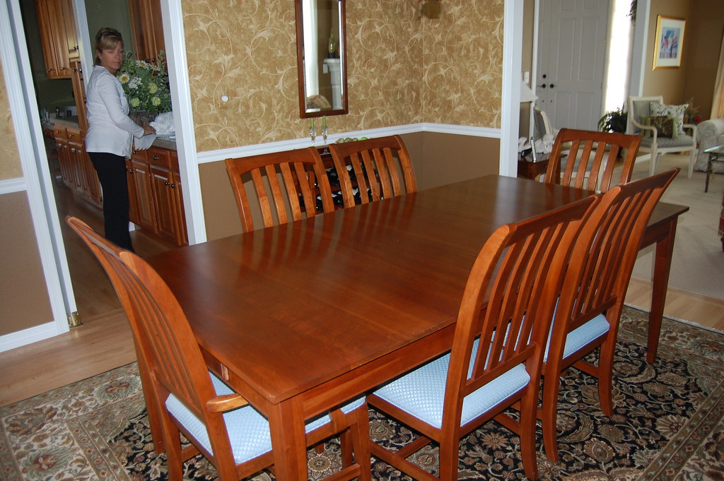 Ethan Allen Dining Room Table Ethan Allen Cherry Dining