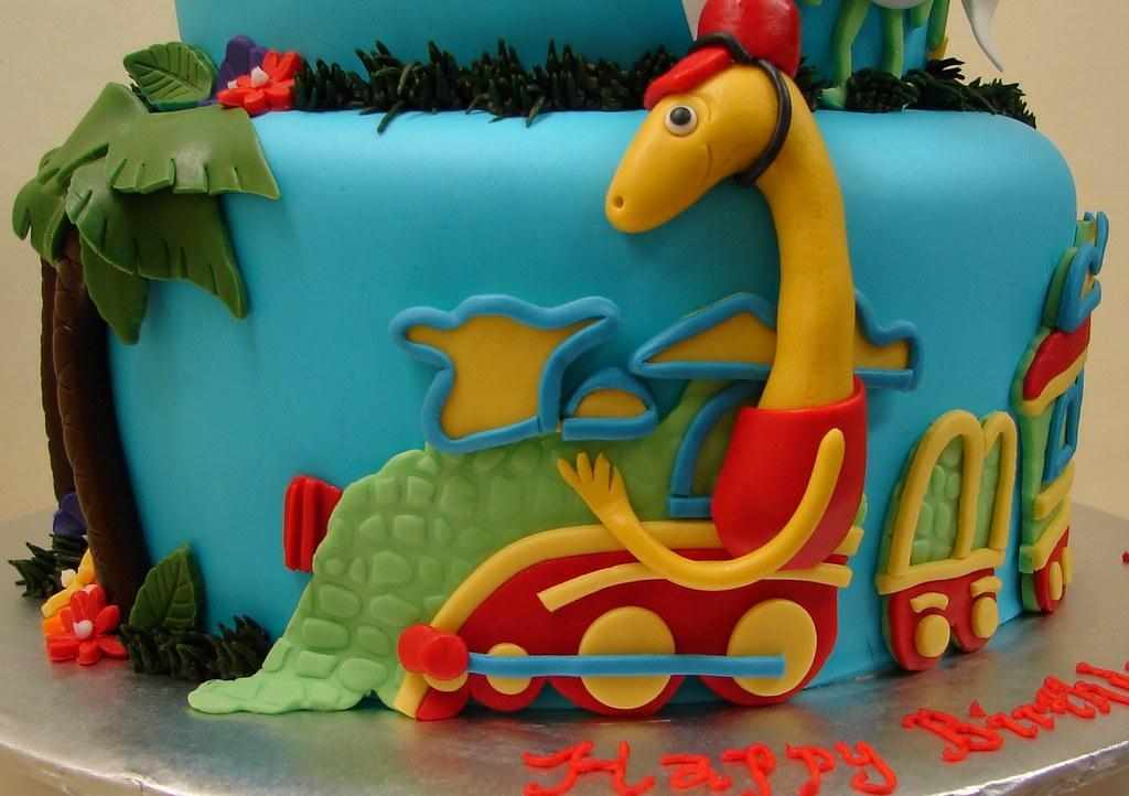 Dinosaur Train Amp Friends Birthday Cake Dinosaur Train