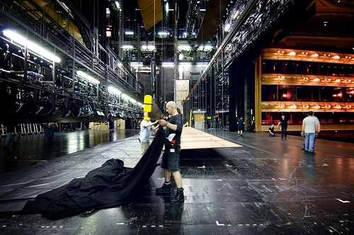 Backstage at the Royal Opera House © Rob Moore/ROH 2007 | by Royal Opera House Covent Garden