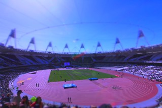 Inside the London Olympic Stadium, UK | by Amal Rajakaruna