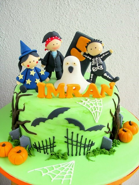Imran s halloween & birthday cake Joanne Fam Flickr
