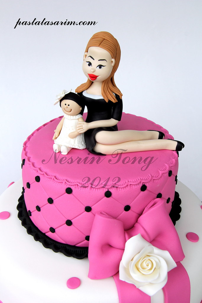 NEW MOTHER BIRTHDAY CAKE CAKE BY NESRN TONG Flickr