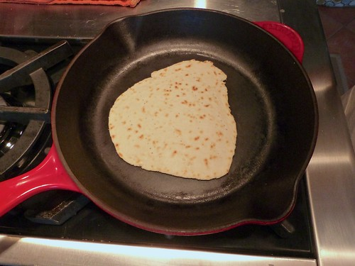 Piadina in the skillet | by Sean Timberlake