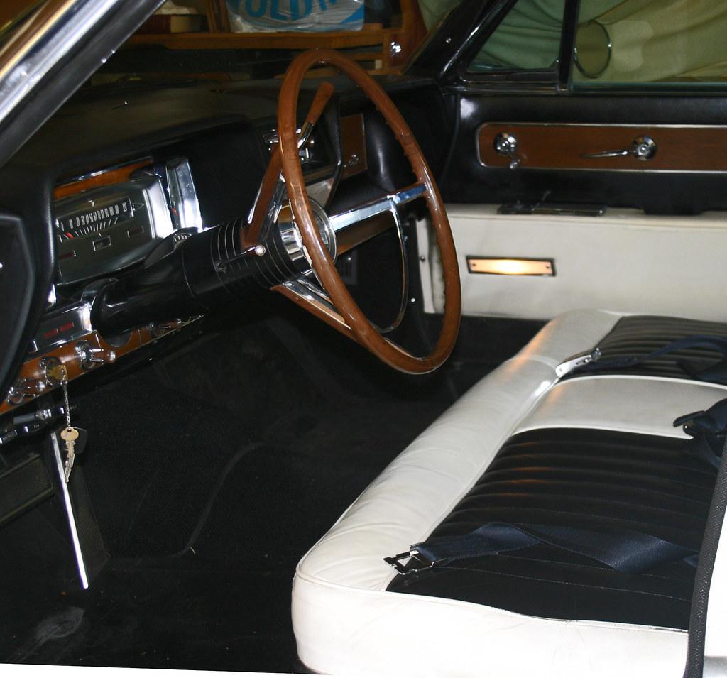 1961 Lincoln Continental Convertible Interior Coconv Flickr