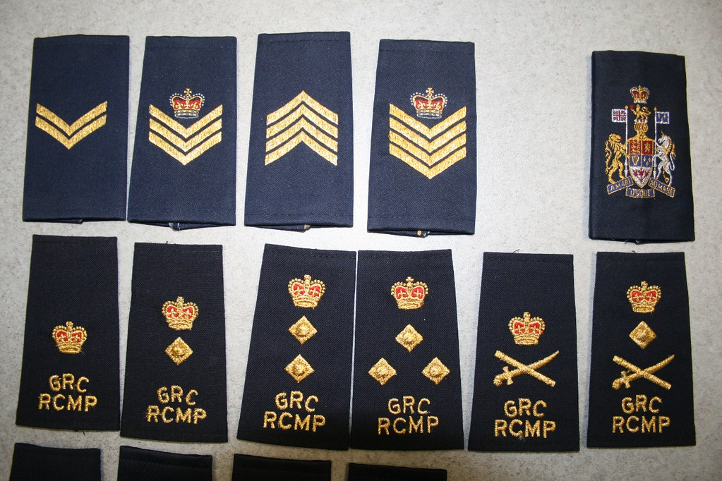 Image Gallery rcmp ranks