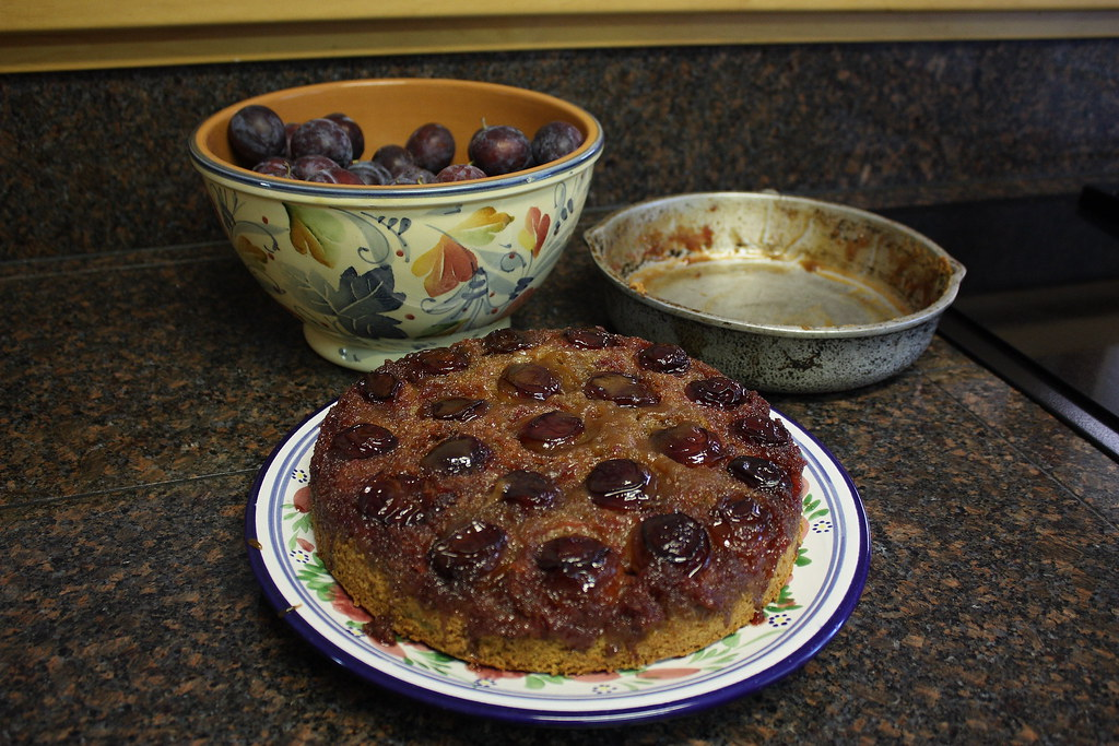 Italian Prune Cake
