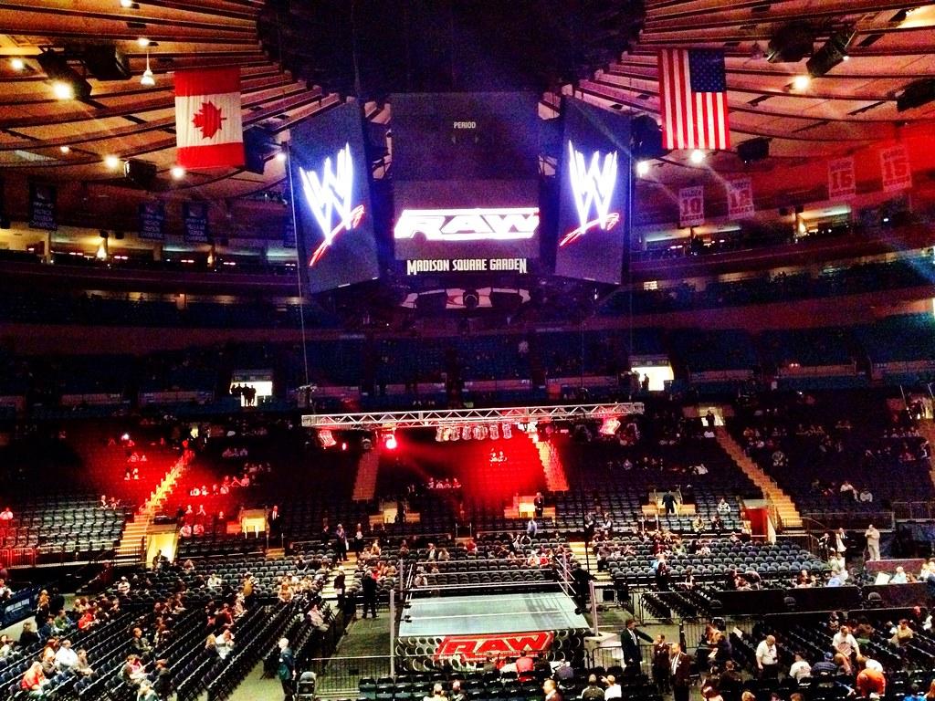 WWE Madison Square Garden Dave Konig Flickr