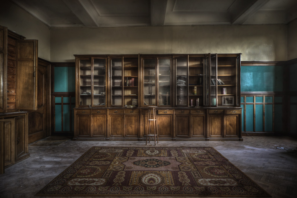 Abandoned Monastery Library Explore This Vast