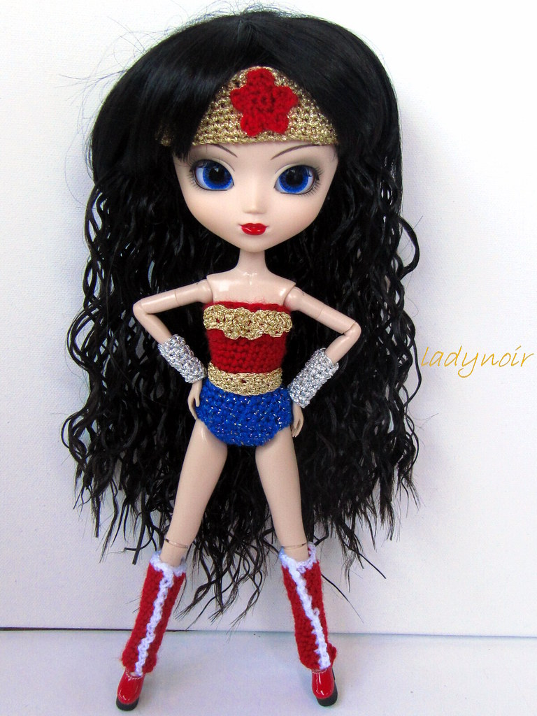 Pullip Melissa is Wonder Woman   This years special Pullip