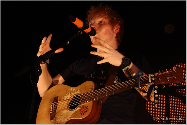 Ed Sheeran Previous Australian Tours