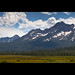 The Sawtooth Mountains • Wallpaper