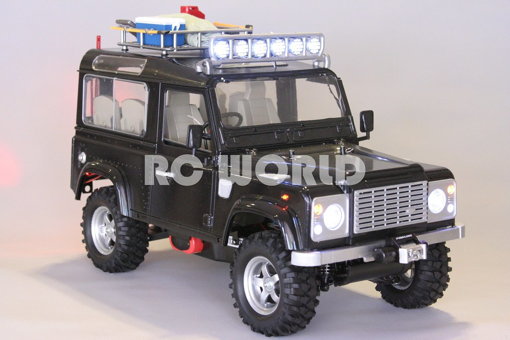 All New Land Rover Defender >> RC 1/10 LAND ROVER DEFENDER 90 | Rc 1/10 land rover defender… | Flickr
