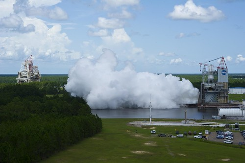 J-2X Engine Test/Nozzle Extension Goes the Distance (NASA, J-2X, SLS, 07/13/12) | by NASA's Marshall Space Flight Center