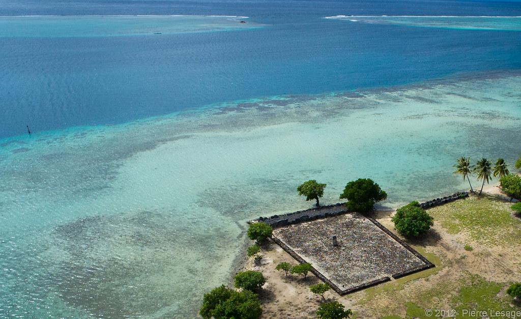 Taputapuatea Marae In Raiatea Check It On Google Earth