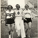 1936 viii unknown berlin - olympics - ibolya csak & elfriede kaun & dorothy odam-tyler - front