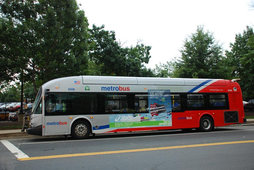 Metro Bus Cleaners Dc : Dc metrobus new flyer de lfa bus in washington so