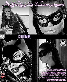 We draw Catwoman tonight | by Alice Stribling