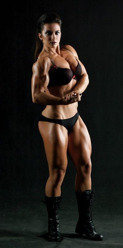 Russian Female Bodybuilder Valentina Mishina -2305