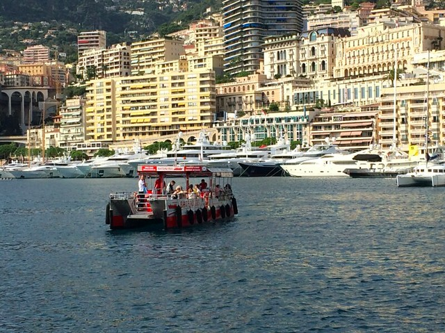 bateau bus in Monaco