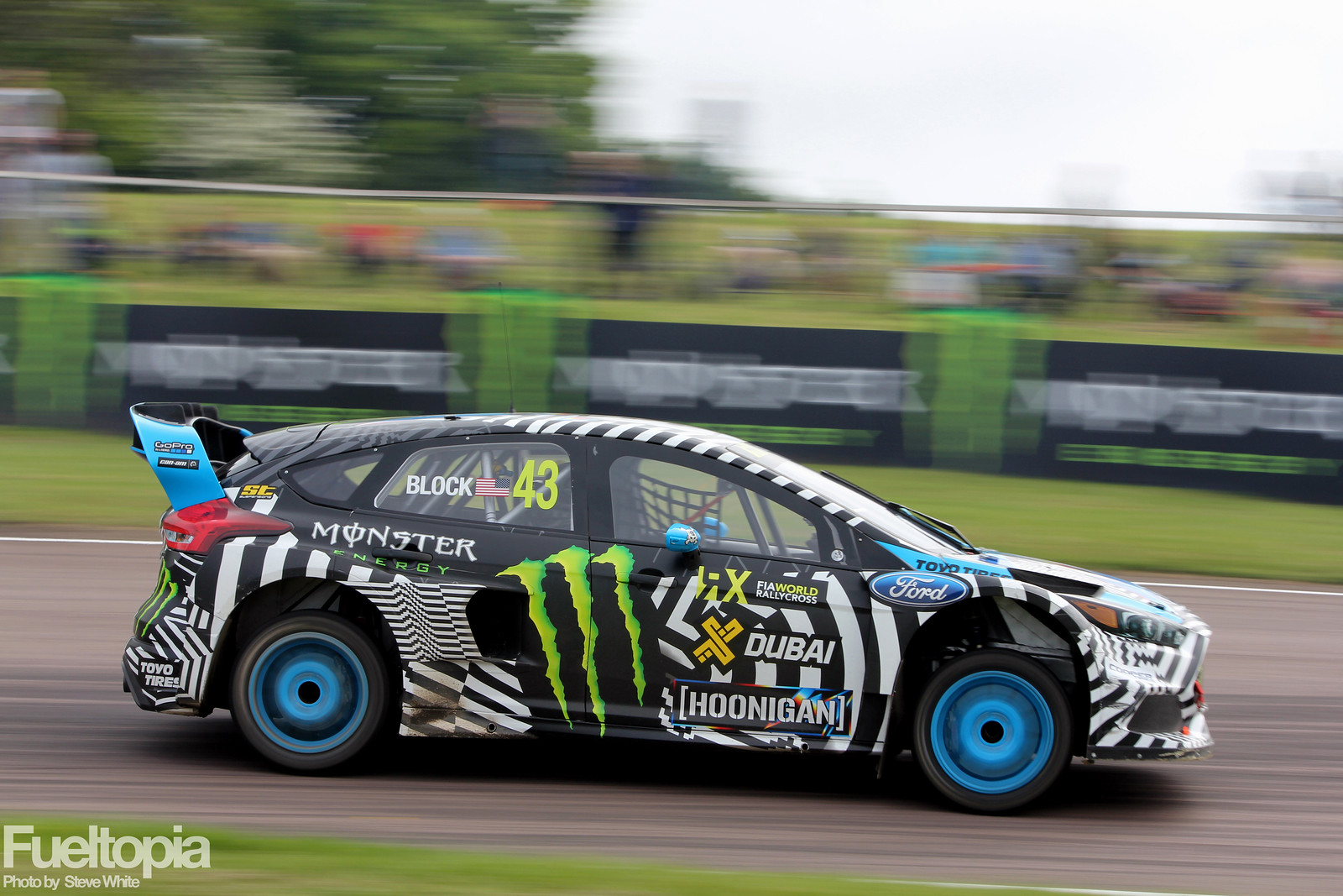 Ken Block Lydden Hill North Bend Exit Pan
