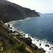 View down to the hot tubs of Esalen