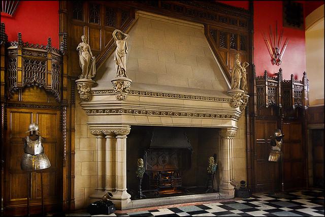 Fireplace, Great Hall, Edinburgh Castle   Flickr - Photo ...