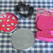 Hello Kitty Cookie Cutter set with tin & silicone food mould