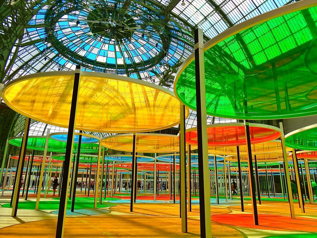 Monumenta 2012 daniel buren the grand palais paris fran flickr - Exposition paris grand palais ...