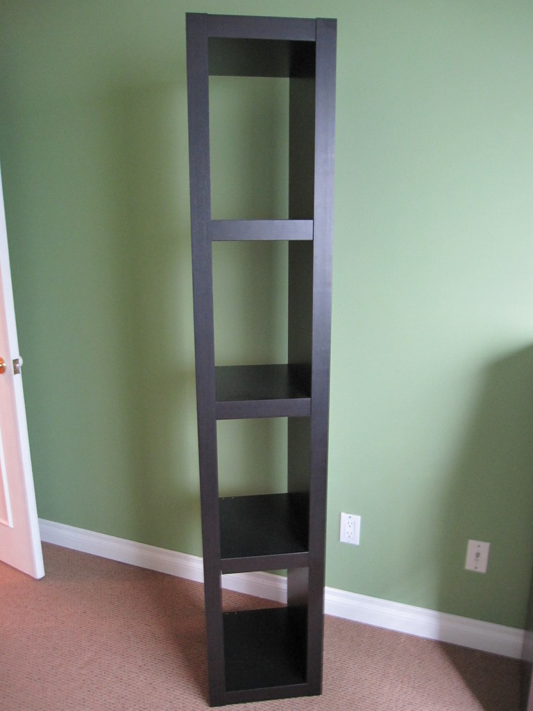 Ikea Lack Bookshelf 50 Dark Brown Black Dimensions 75