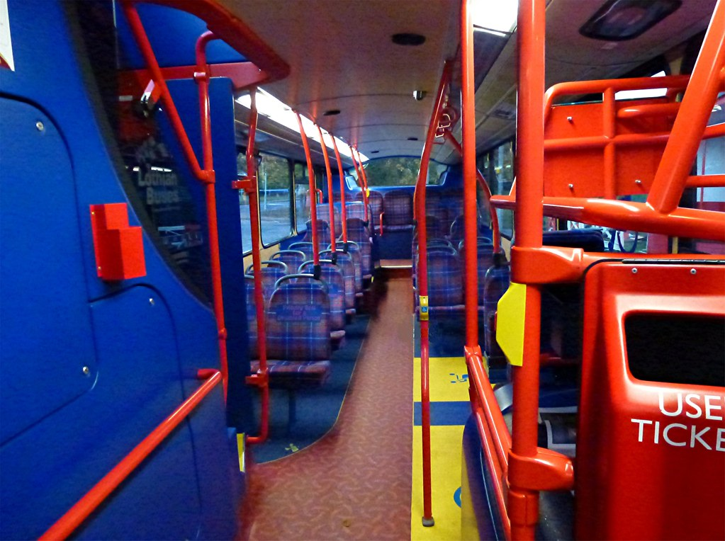 Inside 854 The Lower Saloon Of Volvo B9tl Wrightbus