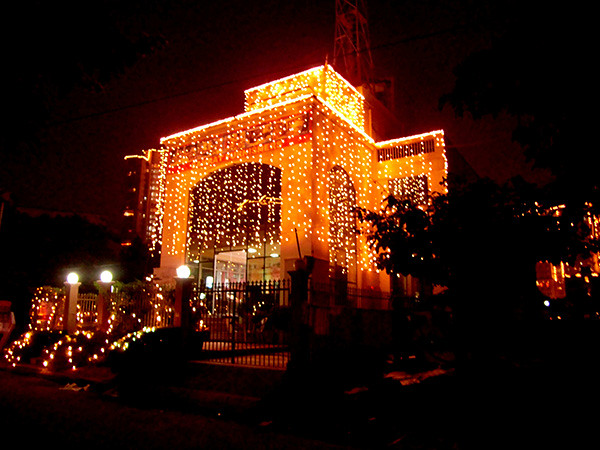 Diwali Light Decoration Enjoy The Festival Of Light Diwal Flickr
