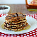 Vegan Chocolate Chip Oat Pancakes {GF, Sugar Free}