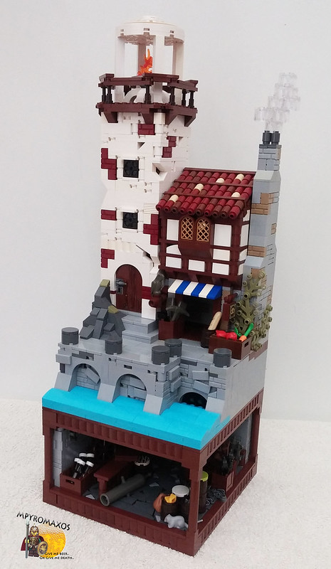 [Brethren of the Brick Seas]: The silver parrot and the secret beneath the lighthouse.. 27724029041_b3266a2d73_c