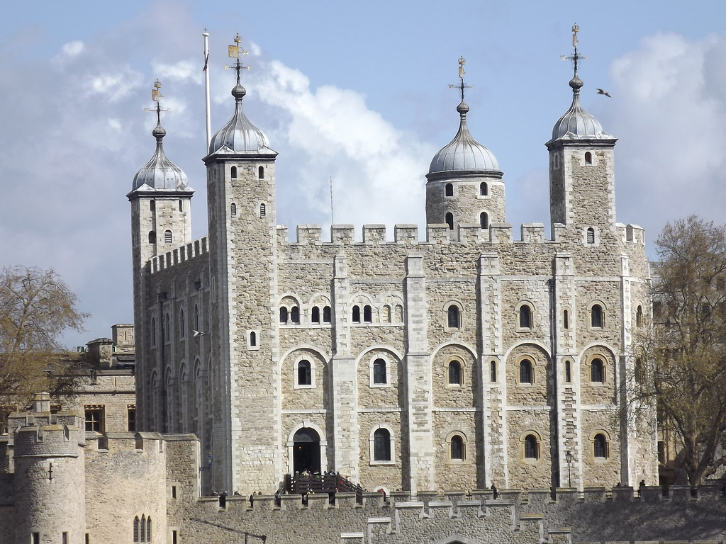White Tower,Tower of London, North bank of the River Thame