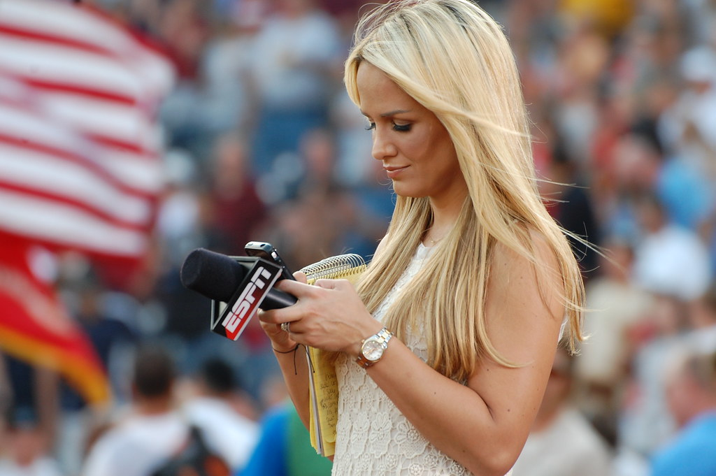 Jenn Brown of ESPN | Minda Haas Kuhlmann | Flickr