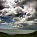 Beautiful sky and sea near Seaford Head